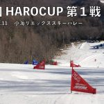 明後日1月11日は、HAROチャレンジカップ第1戦